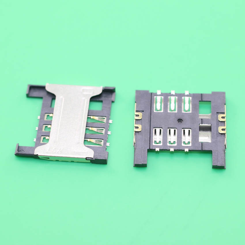YuXi 5PCS/LOT, Brand new for ZOPO C2 ZP980 ZP998 9520 big SIM card reader connector socket module,
