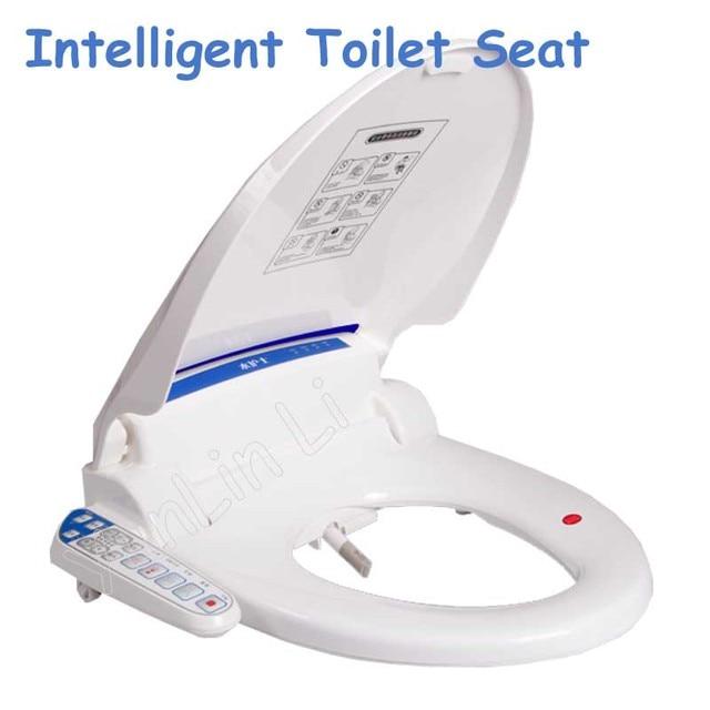 Tremendous Aliexpress Com Buy Automatic Electronic Bidet Toilet Washlet Seat Intelligent Toilet Seat Electric Bidet Smart Toilet Bidet Seat From Reliable Seat Customarchery Wood Chair Design Ideas Customarcherynet