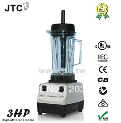 3HP JTC Blender with PC jar, Model:TM-788, Grey, FREE SHIPPING, 100% GUARANTEED NO. 1 QUALITY IN THE WORLD.