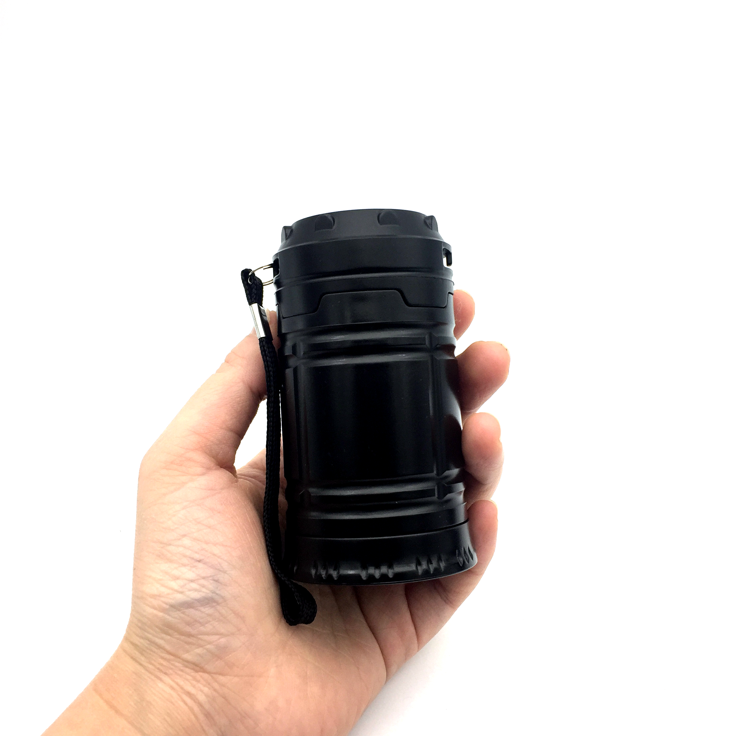 Купить с кэшбэком MingRay KB502 Cheap mini LED Lantern for outdoor camping aa Battery collapsible tent Lamp also multifunction Flashlight