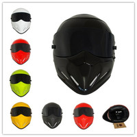 Excellent Star Wars Pig Motorcycle Helmets Full Face Driving Cycling Motocross Helmet Casco Capacete Casque Size