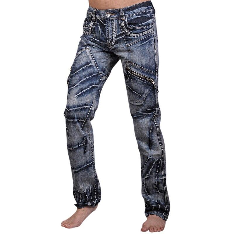 2016 Mens Designer Anthony Dragon Printing Jeans Denim Top ...