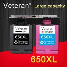 Ветеран чернильный картридж 650XL Замена для hp 650 hp 650 xl для hp Deskjet 1015 1515 2515 2545 2645 3515 4645 принтер