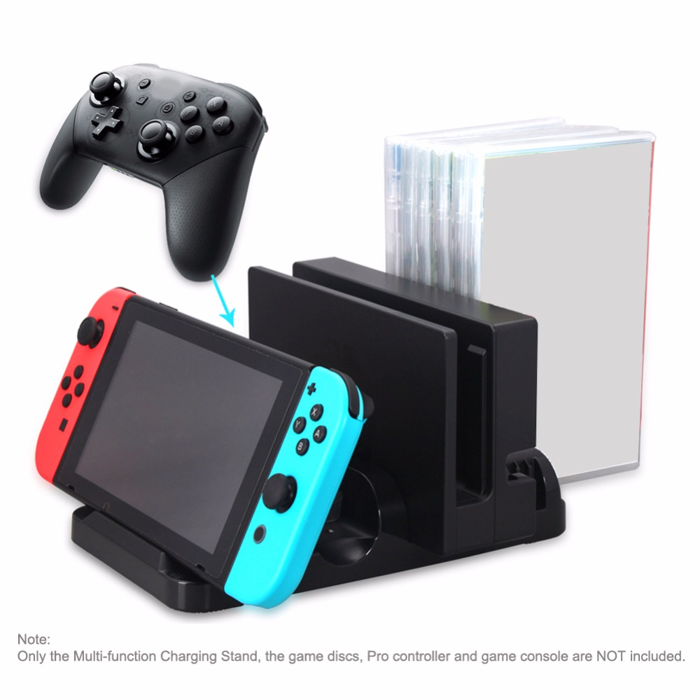 Charging Stand Dock For Nintend Switch N Switch Consol Holder Match Type c Power Supply For