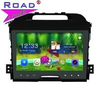 TOPNAVI Android 6,0 2 г + 32 ГБ 9 4 ядра автомобиля Media Center игрока для KIA Spotage стерео gps навигации Ёмкость 2Din MP4