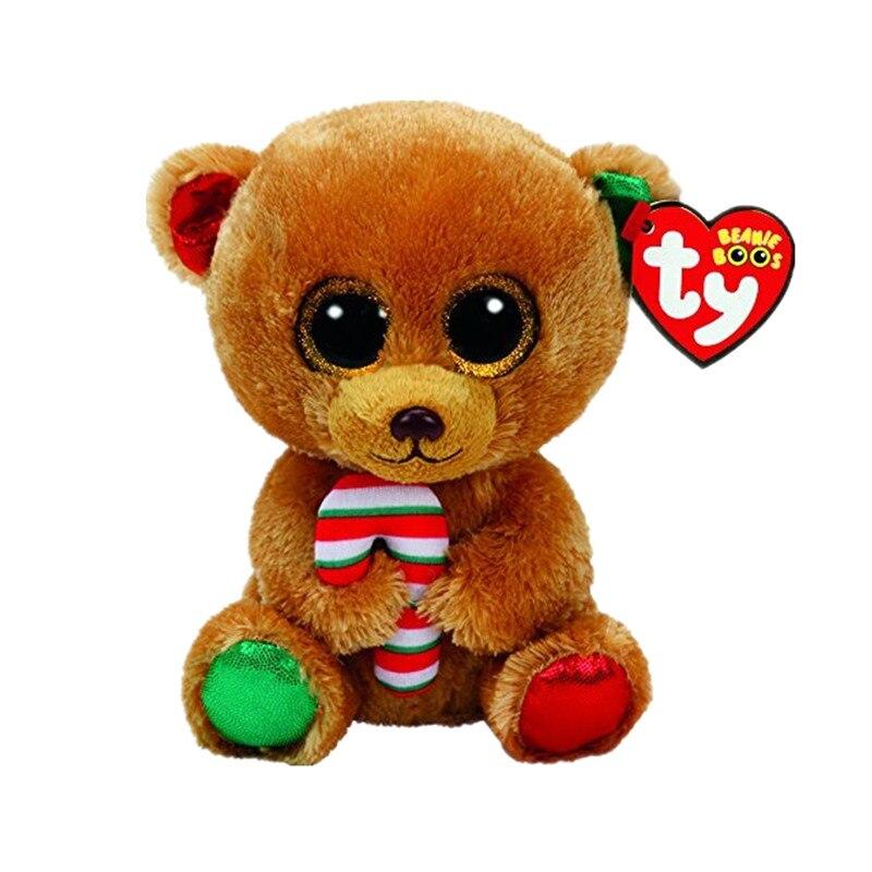 Ty Beanie Babies 37251 Боос Белла Рождество медведь бу дружище S85