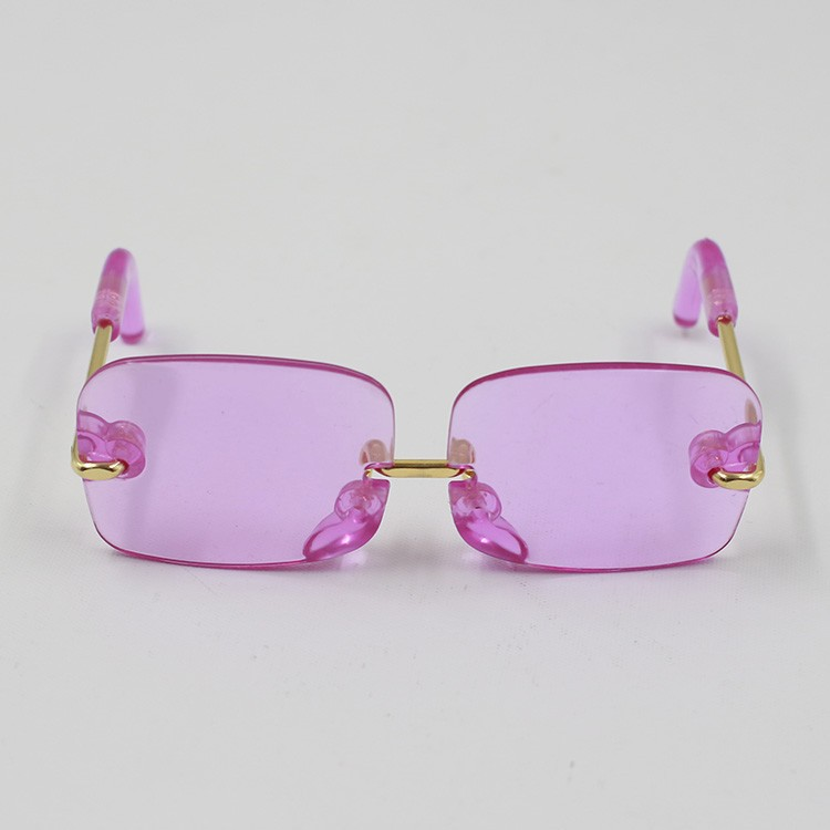 Neo Blythe Doll Heart & Boxes Shaped Glasses 6