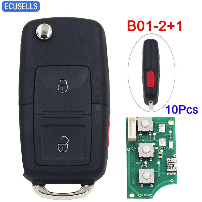 10 Pcs Lot B01 2 1 Universal 2 1 Button Remote Control for KD900 KD900 KD