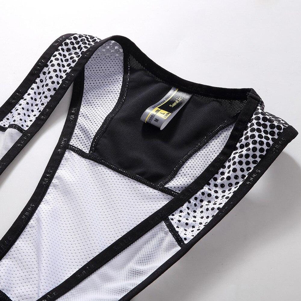 Мужские велосипедные шорты Santic 4D Coolmax, противоударные шорты с мягкой губкой, быстросохнущие шорты для горного велосипеда, Culotte Ciclismo Hombre - 3