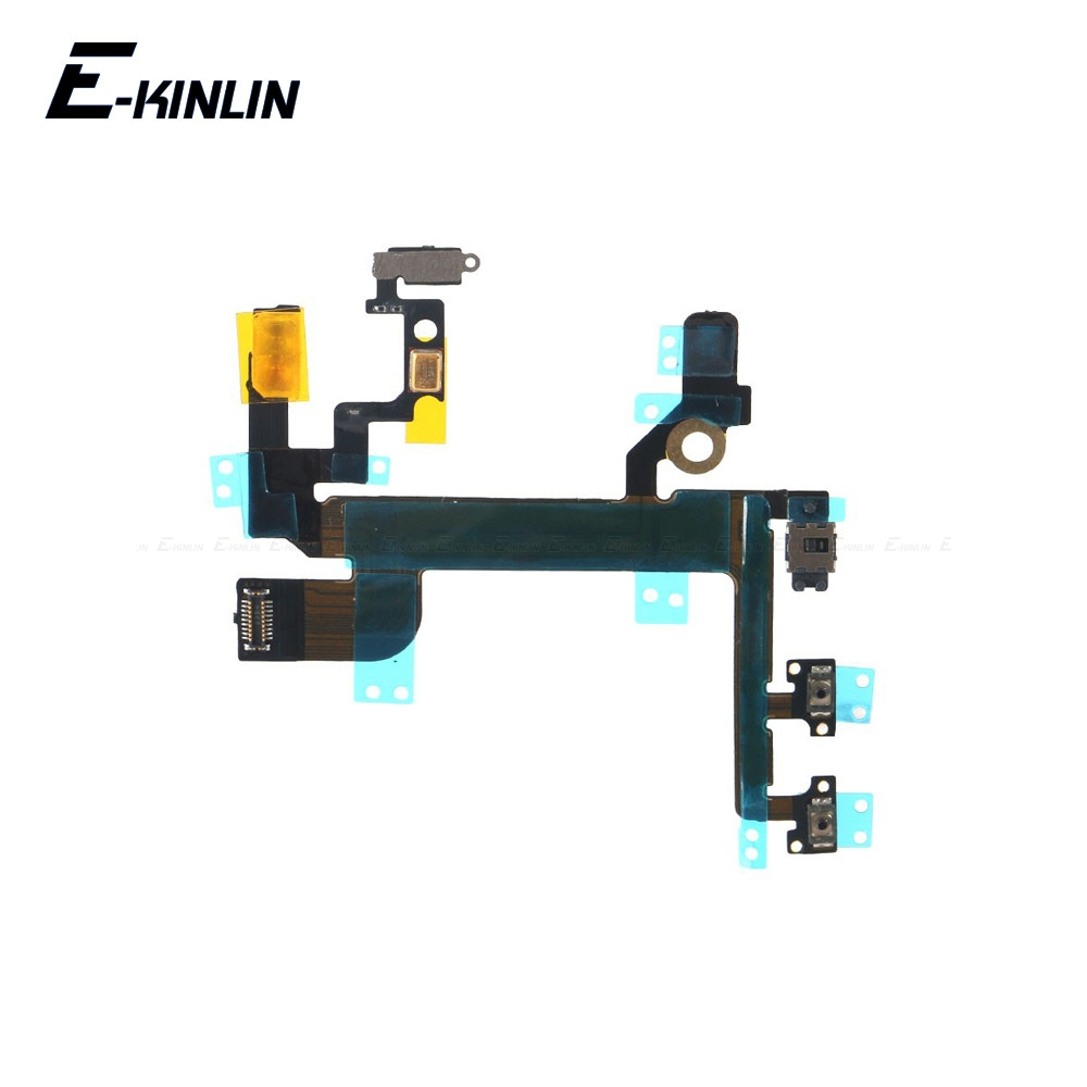 Hot Volume Button Key Flex Cable For IPhone SE ON OFF Switch Power Button Key Flex Cable Ribbon