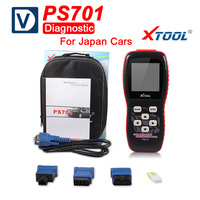 2018 Original Xtool PS701 JP Diagnostic Tool PS 701 OBD2 Diagnostic for Japan Cars Scanner Car Xtool Update Online Free Shipping