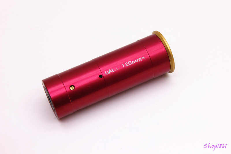 12 GAUGE Cartridge Laser Sighter  Red Sighting  Copper 12GA Shotgun and Gun Cleaner 12 Gauge/Hunting accessories