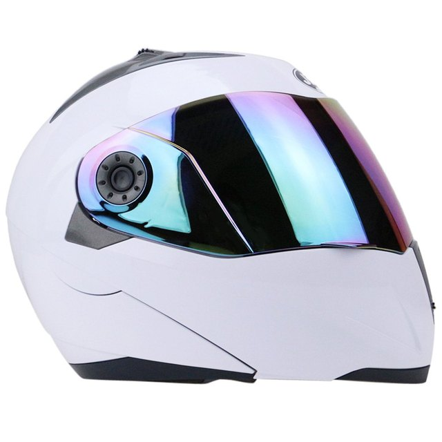Full Face Motorcycle Helmet Racing Full Face Helmet Motorcycle Helmet Run Cyclo-Cross With Colorful Lens with Free Shipping