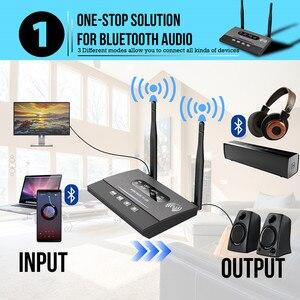 Image 2 - 3 trong 1 Tầm xa Bluetooth 5.0 Thiết Bị Thu Phát NFC có Âm Thanh APTX LL Quang Học HD 3.5mm RA 2 ĐẦU RCA AUX cho TV/Âm Thanh Nổi Tại Nhà