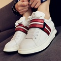 Korean Style Fashion Black White Shoes For Women 2017 Spring New Comfortable Beautiful All-match Singles Shoes Size 38 39