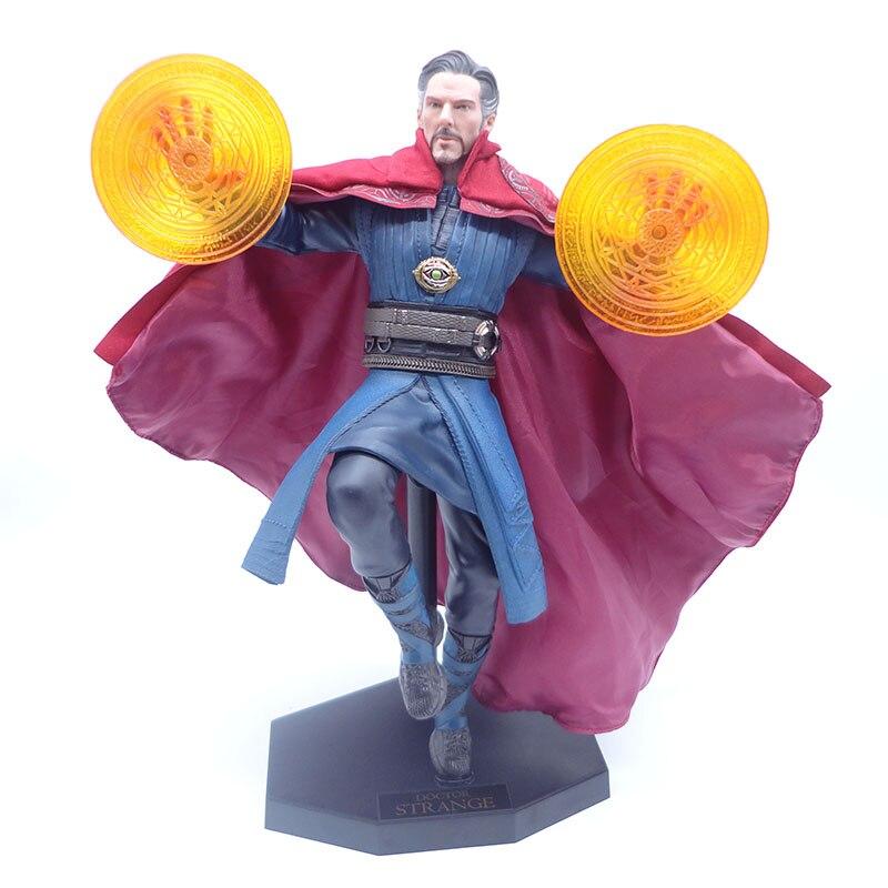 Docteur étrange jouets fous figurine d'action 1/6 échelle peinte PVC figurine de combat Version docteur étrange Statue jouet Anime