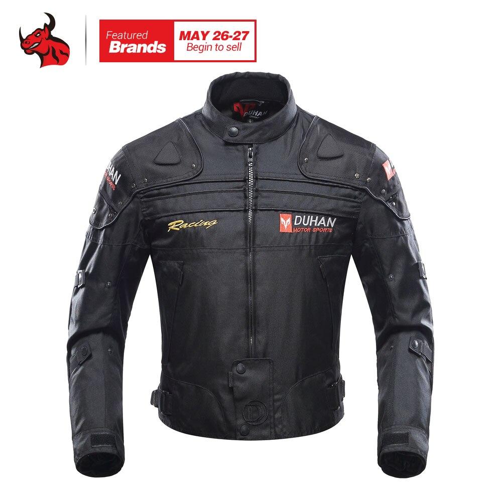 Духан мотоциклетная куртка мотоцикл летную куртку ветрозащитный мотоцикл для всего тела защитный Шестерни Броня осень-зима Moto Костюмы
