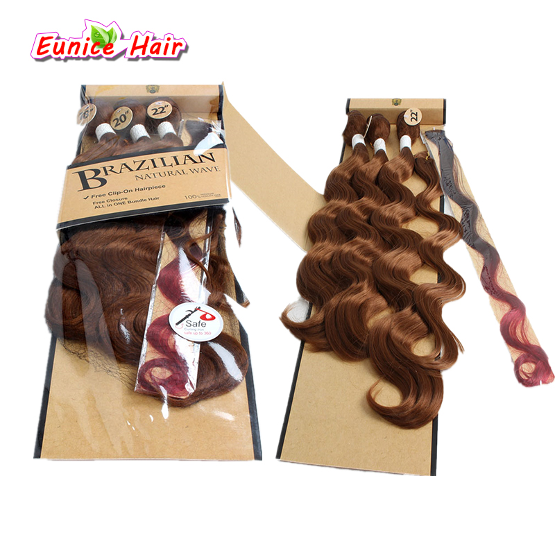 18 20 22inch Ombre body wave with closure brazilian natural wave 1B/30/27 Three Tone Col ...