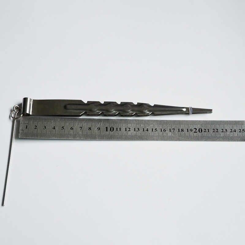 Länge: 22 cm Metall Shisha Shisha Holzkohle Zange Pinzette Shisha Sheesha Chicha Narguile Rauchen Zubehör