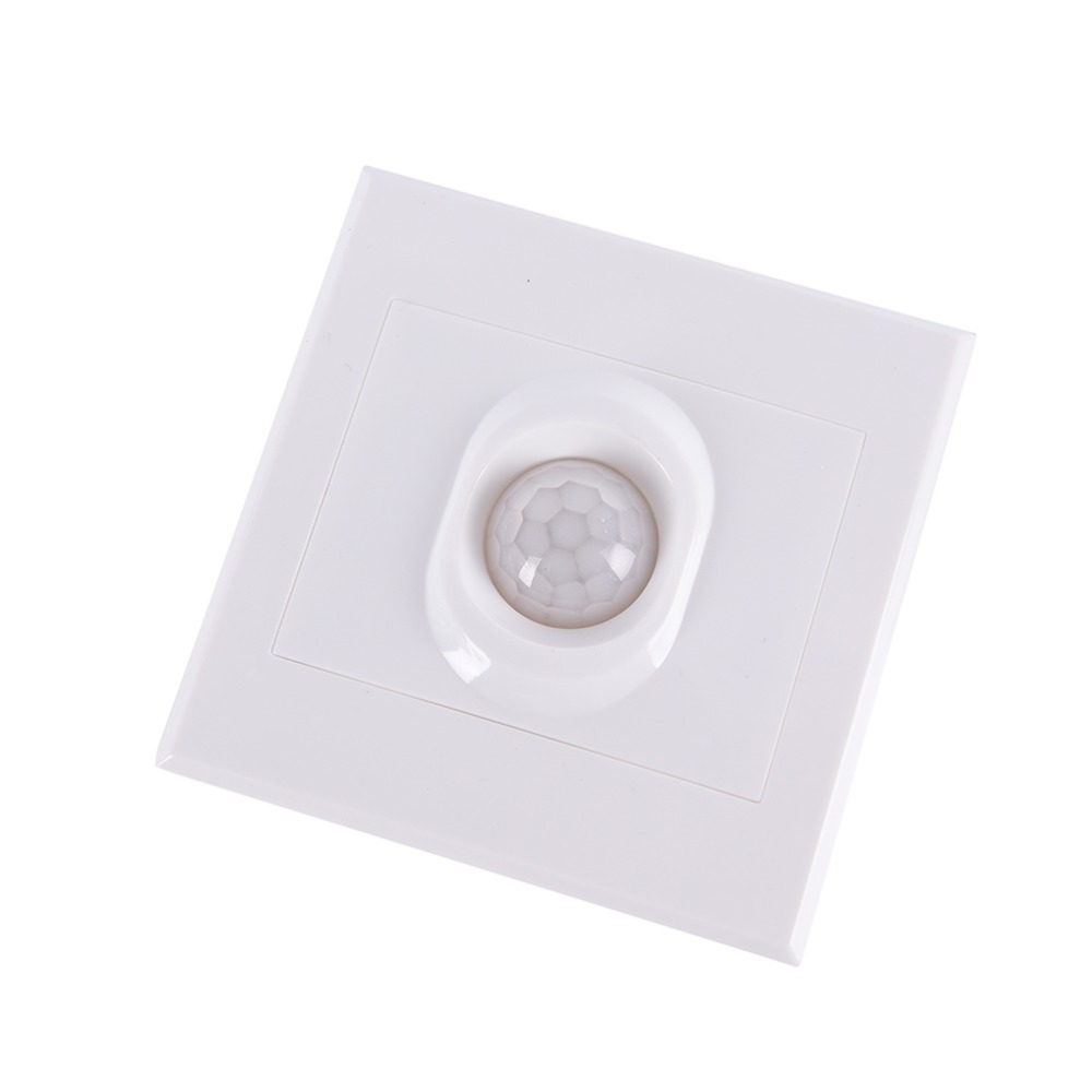 CHICLITS PIR Infrared Motion Sensor Switch 110V 220V Automatic Module Light On Off LED light Body Induction Light Control Switch