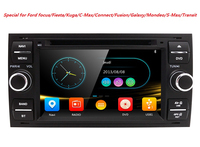 7 Car DVD player with GPS BT/TV USB SD,audio Radio stereo,Car multimedia headunit for FORD FOCUS/MONDEO/S MAX/CONNECT 2005 2007