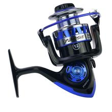 лучшая цена 12 axis Metal Wire Cup Plastic Body Spinning Wheel Reel Fishing Equipment Fishing Reel