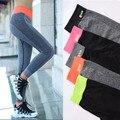 Manera de las mujeres pantalones lápiz pantalones de fitness musculación crossfit ejercicio compresión medias mujer pantalones de secado rápido