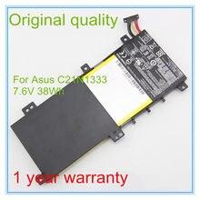 7,5 В 38WH Оригинальный Новый C21N1333 Аккумулятор для TP550LA TP550LD 15,6
