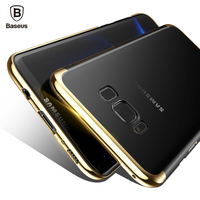 Baseus Luxury Case For Samsung Galaxy S8 S8 Plus Electroplating Hard PC Coque Protective Back Cover