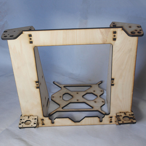 3 D printer parts reprap mendel prusa I3 improved laser cut frame wooden in 6mm plywood free shipping