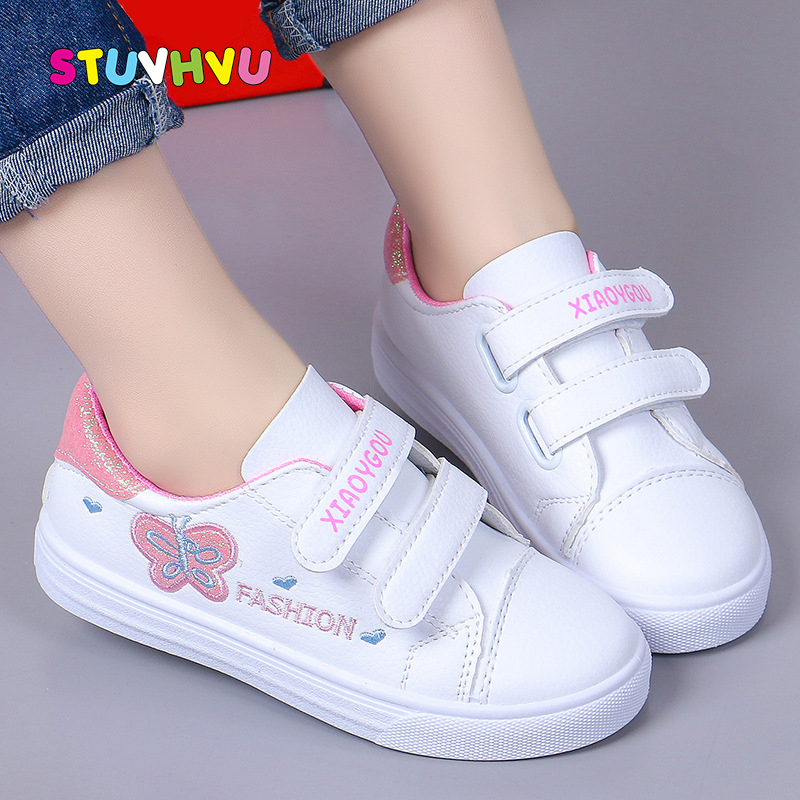 Best Deal #be793 Girls Shoes White Children Sneakers 2019