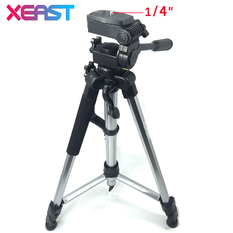 XEAST  metal Tripod 150CM Laser Level Tripod 1/4  thread Laser Tripod for Laser Level Adjustable Tripod snow tripod