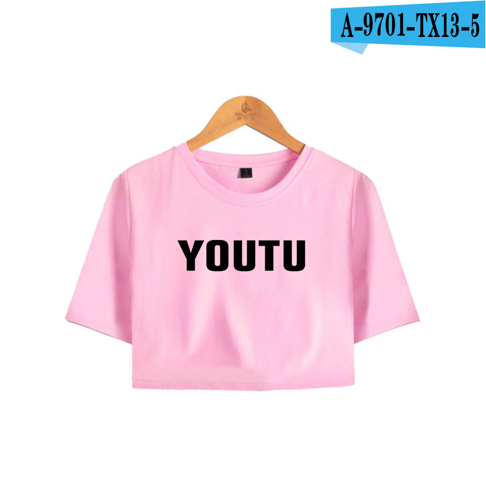 BTS Crop Tops Hip Hop Short Sleeve T-shirt Shawn Mendes Harajuku Women And Men Fans Clothes 2018 Kpop Kawaii Plus Size 4XL