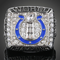 New Sale American Football Sports Souvenirs 2007 Indianapolis Colts Replica Super Bowl Rings for men J02044