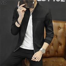 Nova Moda jaqueta para homens Venda Quente estilo Britânico jaqueta  masculina 2018 primavera outono Casual masculino roupa Ao Ar.. ba9f4b5a169