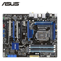ASUS P7P55 WS Supercomputer Motherboard LGA 1156 DDR3 16GB For Intel P55 Desktop Mainboard Systemboard PCI E X16 Used AMI BIOS