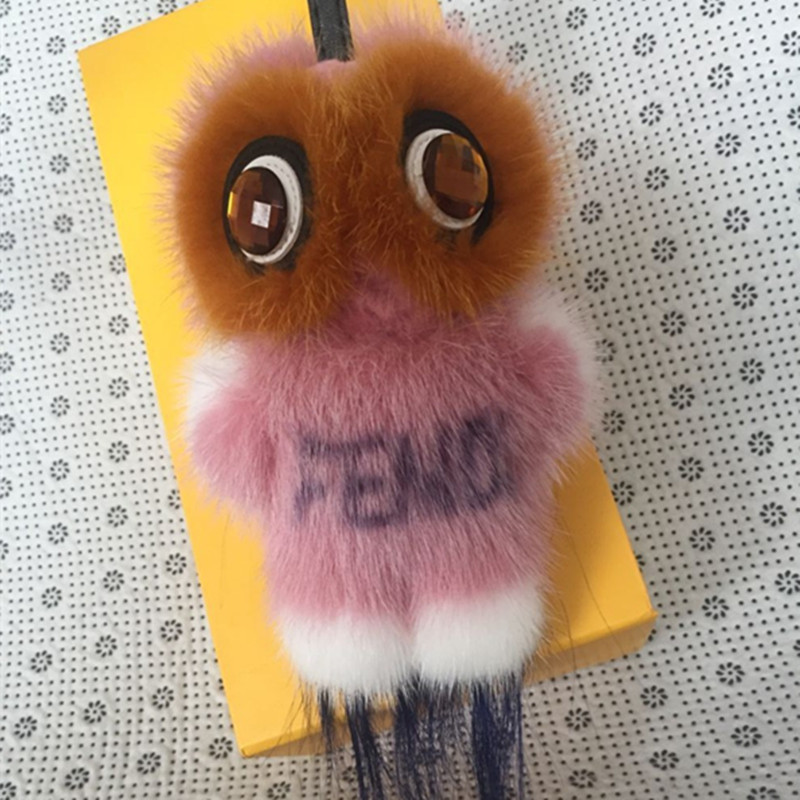 trinket-Fur-Pom-Pom-Key-Chain-Women-Trinket-monster-Toy-Doll-Bag-Car-Key-Ring-Monster (4)