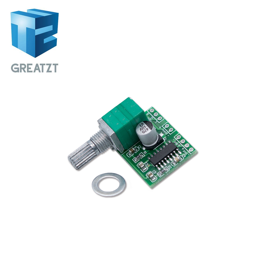 1PCS PAM8403 mini 5V digital amplifier board with switch potentiometer can be USB powered