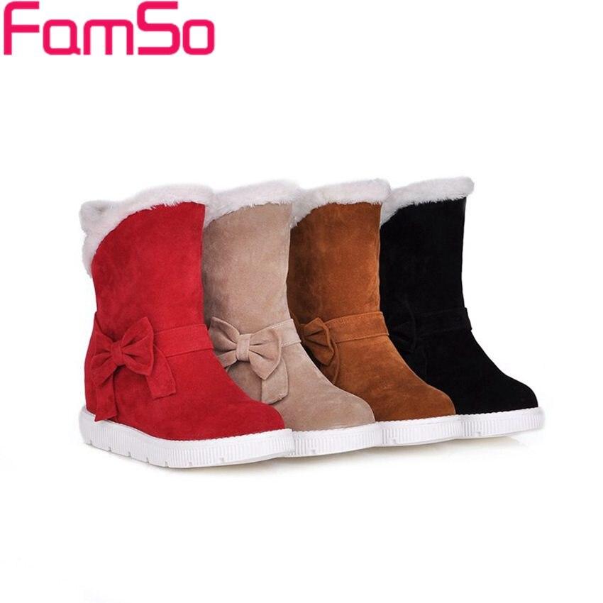 Plus Size34 43 2016 font b Women b font Boots Black Spring Flats Shoes Autumn Lady