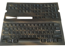 สีดำ 108 PBT Double shot Translucidus Backlit Keycaps สำหรับ Corsair STRAFE K65 K70 Logitech G710 + คีย์บอร์ด