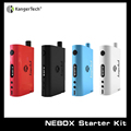 New Arrival 60W TC Starter Kit Temp Control Box Mod with 10 ML Capacity Tank Hot sale Kanger NEbox Kit 1 pc/lot