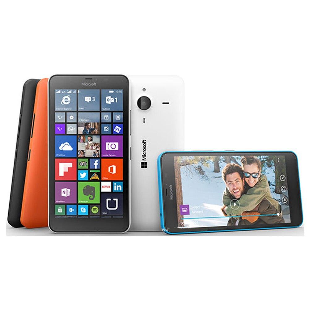 """Nuovo Originale Microsoft Lumia 640 XL Dual SIM Del Telefono Cellulare 3G RM 1096 5.7 """"Snapdragon Quad Core 1GB di RAM 8GB di ROM Per Smartphone-in Telefoni cellulari e smartphone da Cellulari e telecomunicazioni su  Gruppo 1"""