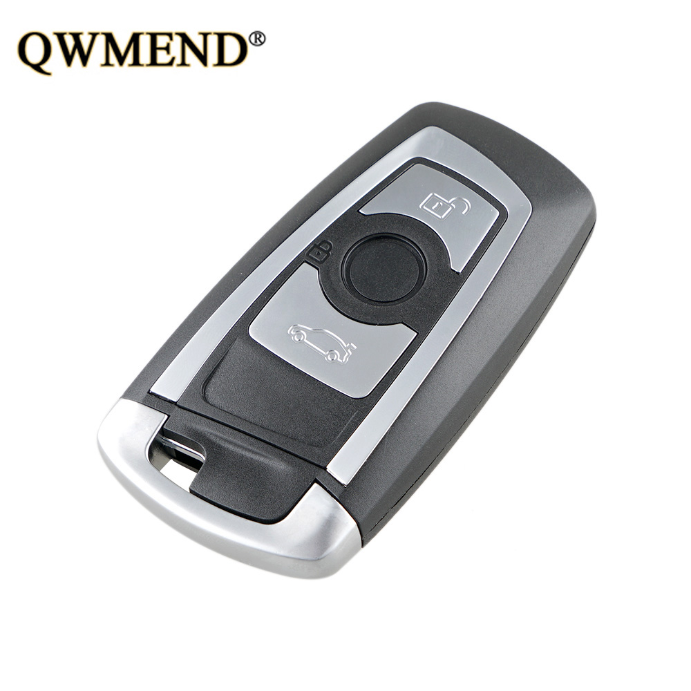 QWMEND 315/434/868MHz PCF7953 Chip CAS4+/FEM KR55WK49863 Replacement 3 Button Remote Key Fob for BMW 1 2 3 4 5 6 7 Series X3 M2QWMEND 315/434/868MHz PCF7953 Chip CAS4+/FEM KR55WK49863 Replacement 3 Button Remote Key Fob for BMW 1 2 3 4 5 6 7 Series X3 M2