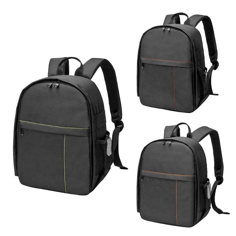 Waterproof Camera Backpacks Unisex Women Men Multi-function Shockproof Digital Dslr Camera Bags Tripod Case Video Shoulder Bags