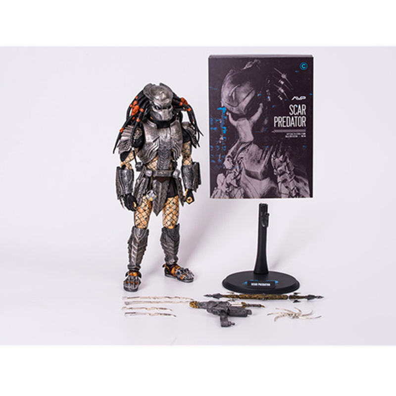 12 Inch The Predator HC Scar Predator MMS190 Section C Weapon exchange PVC Action Figure Collectible Model Toy Box 32.5cm12 Inch The Predator HC Scar Predator MMS190 Section C Weapon exchange PVC Action Figure Collectible Model Toy Box 32.5cm