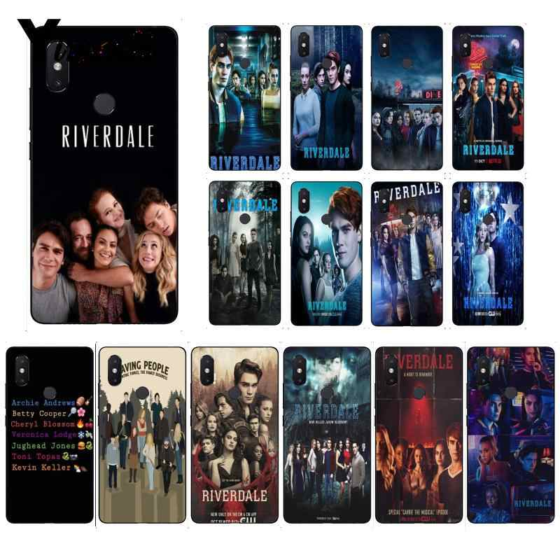 Yinuoda TV Riverdale Newly Arrived Black Phone Case for Xiaomi Mi 6 Mix2 Mix2S Note3 8 8SE Redmi 5 5Plus Note4 4X Note5