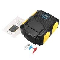 12 V Elektrische Digitale Display Auto Luchtcompressor Pomp Auto Auto Tire Inflator Luchtpomp met LED Licht