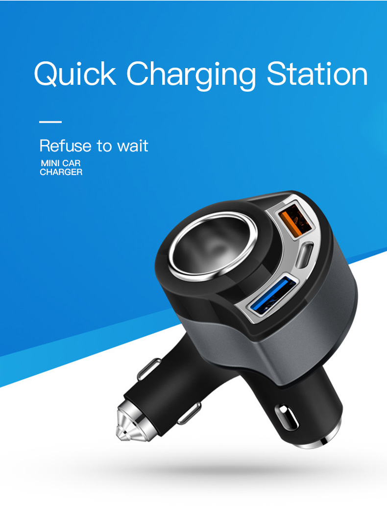 QC 3.0 USB Type C Car Charger (6)
