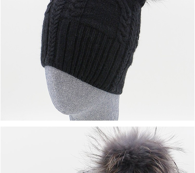 0788992ef7a GZHILOVINGL New Slouchy Oversized Knit Beanie Hats For Men Black Winter  Autumn Mens Black Cotton Polyester Letter Hat SkulliesUSD 9.99 piece