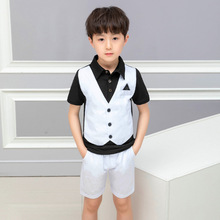 2019 summer wear new childrens clothing factory outlet boy suit clothes  kids fahsion boys Ali 286